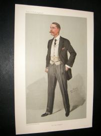 Vanity Fair Print 1905 Major Evans-Gordon